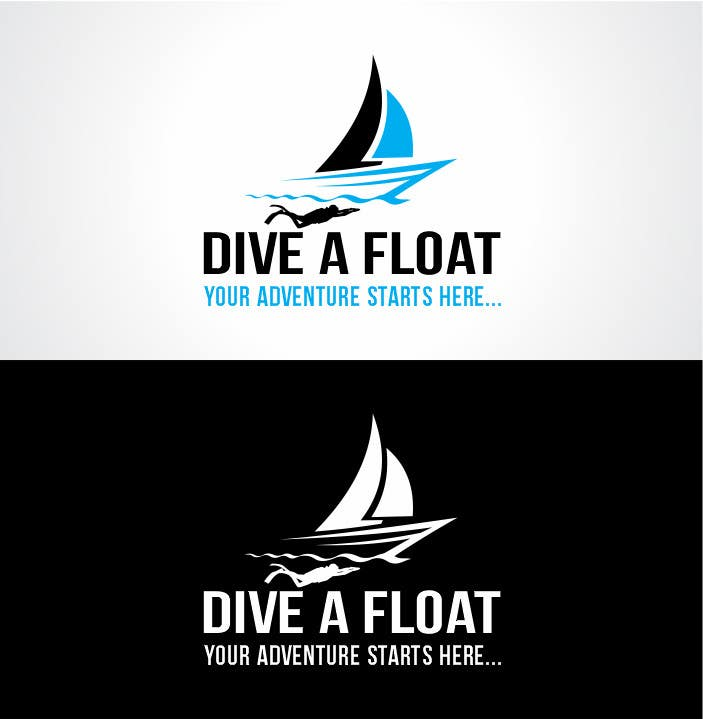 #51 for Logo Design for Diveafloat. by thecooldesigner
