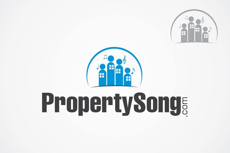 Contest Entry #                                        376                                      for                                         Logo Design for PropertySong.com or MyPropertySong.com