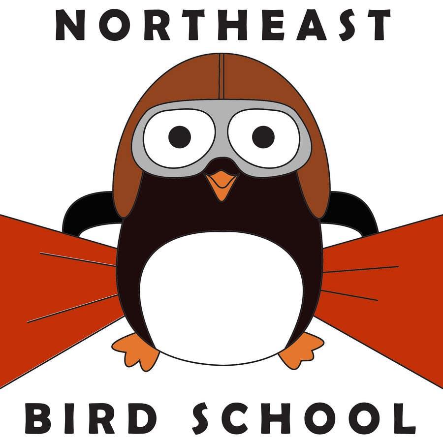 Inscrição nº                                         11                                      do Concurso para                                         Logo Design for Northeast Bird School