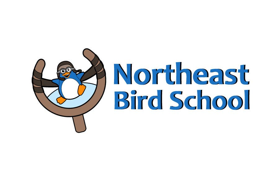 Inscrição nº                                         3                                      do Concurso para                                         Logo Design for Northeast Bird School