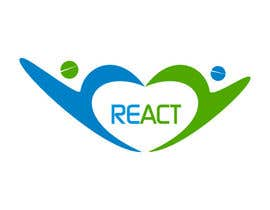 #152 for Design en logo for REACT by ibed05