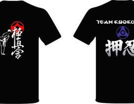 #45 for Design a T-Shirt for karate organization af freehon