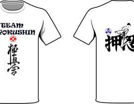 #47 untuk Design a T-Shirt for karate organization oleh freehon