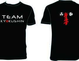 #57 for Design a T-Shirt for karate organization by pak2013pak