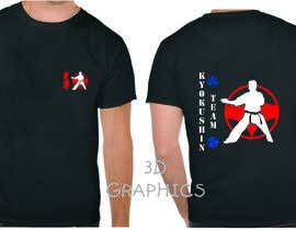 #67 for Design a T-Shirt for karate organization af pak2013pak