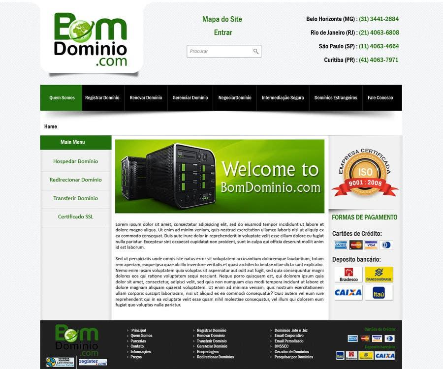 #49 for Single Page WebSite Template by priyakkl