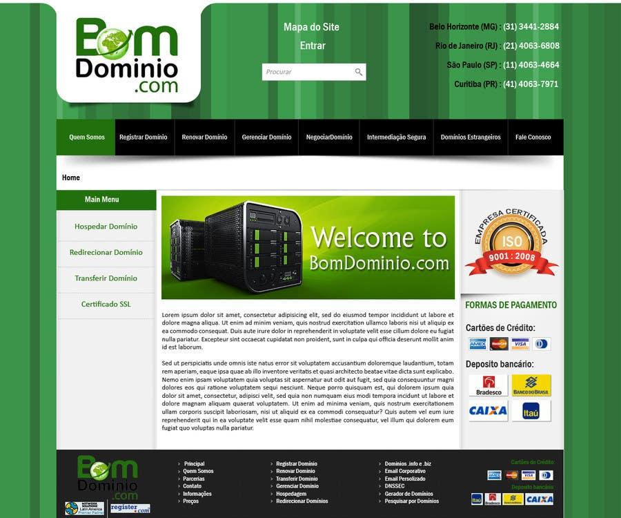 #50 for Single Page WebSite Template by priyakkl