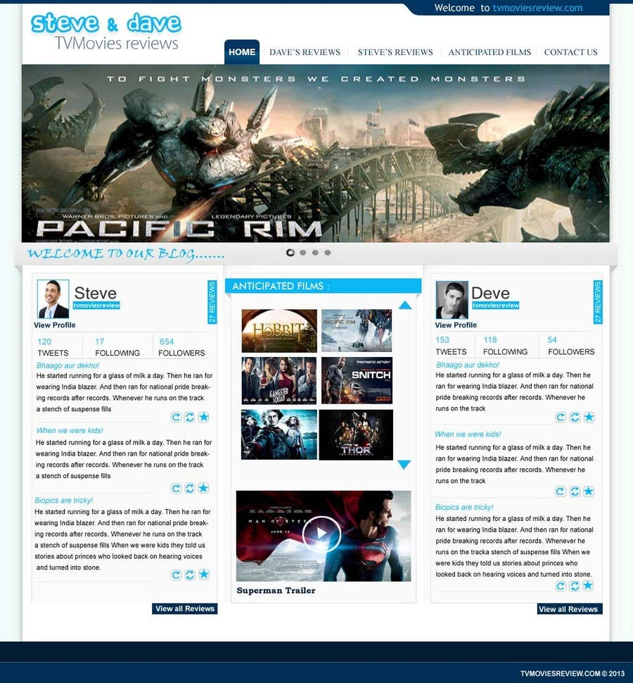 #51 for Single Page WebSite Template by iffal