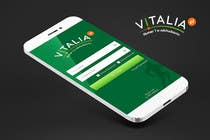 "Contest Entry #121 for Design for mobile app ""Vitalia tracker"" (design only)"