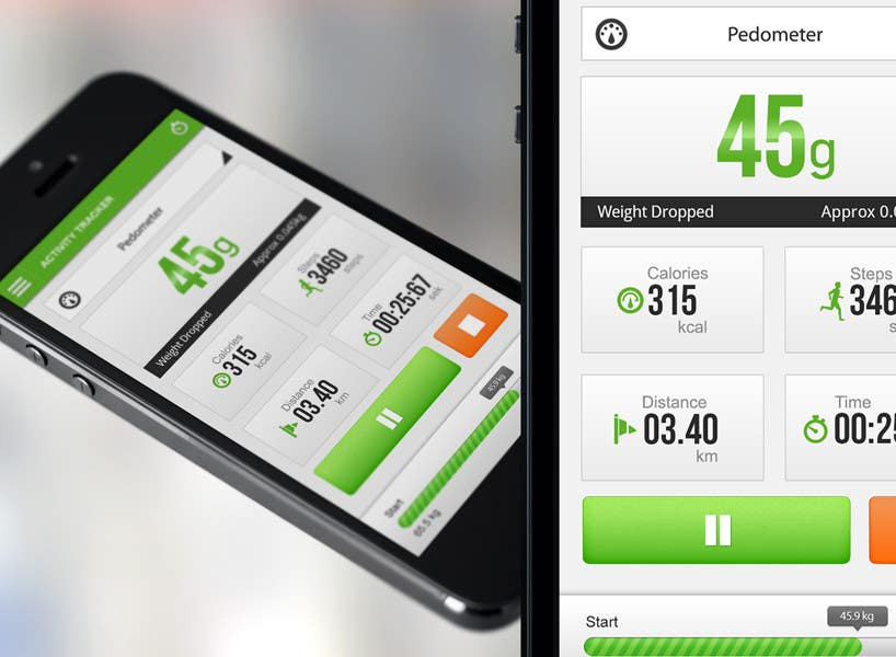 "#153 for Design for mobile app ""Vitalia tracker"" (design only) by JustLogoz"
