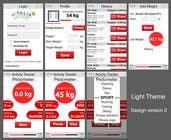 """Contest Entry #32 for Design for mobile app """"Vitalia tracker"""" (design only)"""