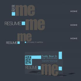 #12 for Logo and Business Card for Resume:Me by simpleform