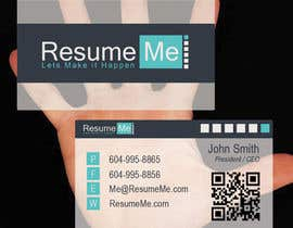 #45 untuk Logo and Business Card for Resume:Me oleh RocketFlock