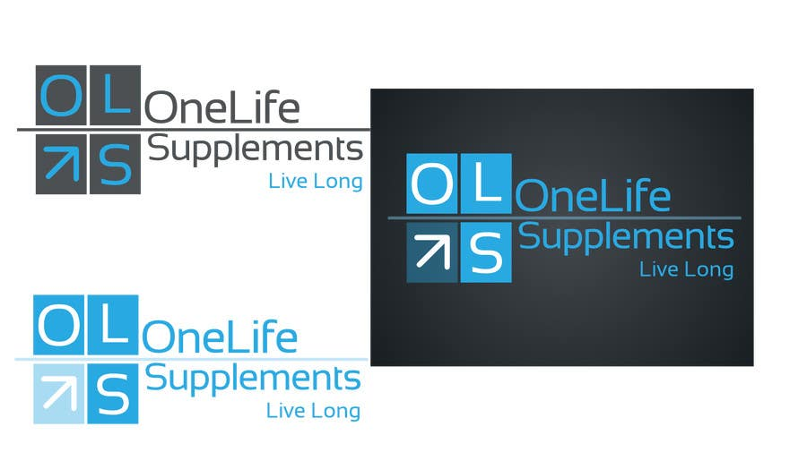 Kilpailutyö #12 kilpailussa Design a Logo for a custom supplement brand: OneLife Supplements- TagLine Live Long