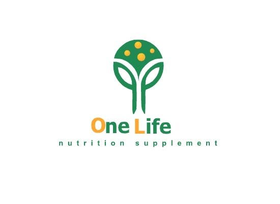 Kilpailutyö #13 kilpailussa Design a Logo for a custom supplement brand: OneLife Supplements- TagLine Live Long