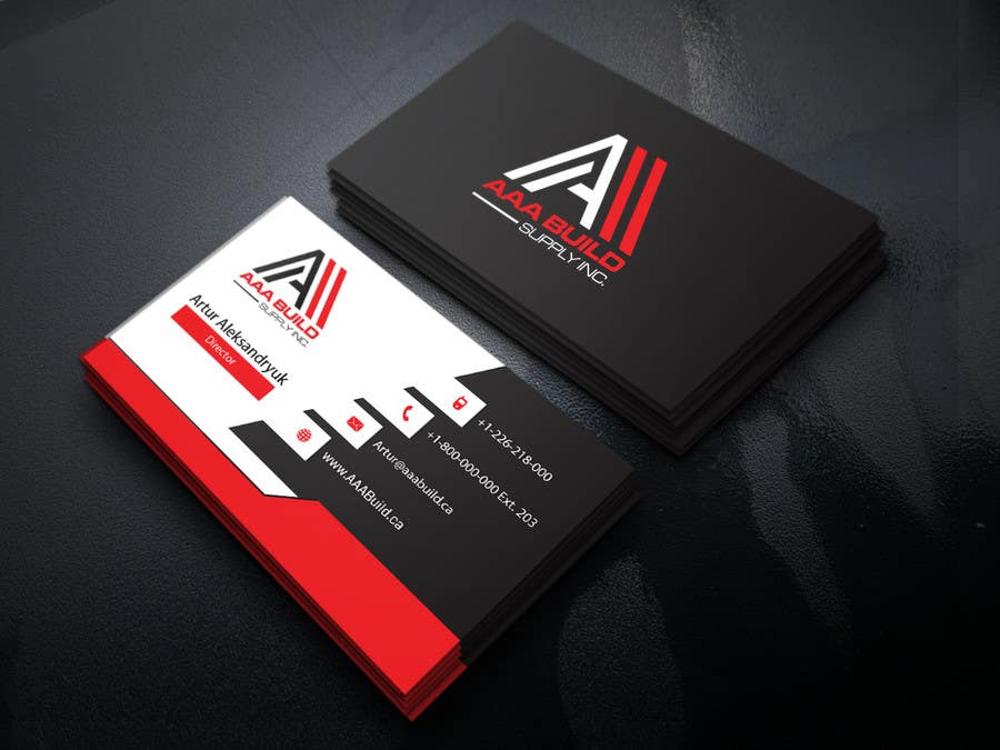Entry #86 by ALLHAJJ17 for Design Business Card For AAA Build Supply ...