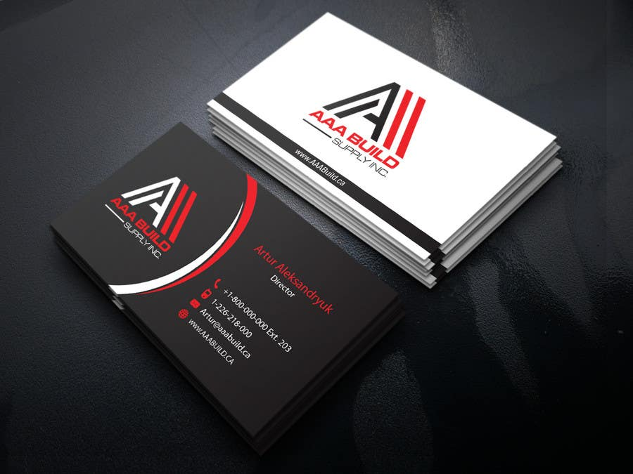 Entry 97 by allhajj17 for design business card for aaa build supply contest entry 97 for design business card for aaa build supply colourmoves