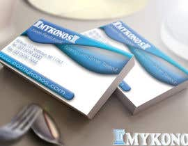 #52 untuk Design some Business Cards for Mykonos Greek Restaurant oleh ali92hassan