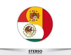 #34 para Diseñar un logotipo redondo de 1024x1024 PNG para una pagina web de stebso