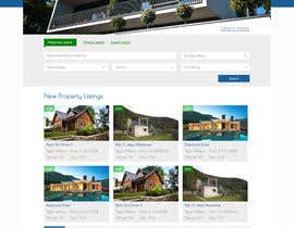 #24 untuk Design a Website Mockup for Property Site oleh FreedomStar
