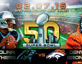 #11 for Design a Banner for Superbowl 50 by mirandalengo