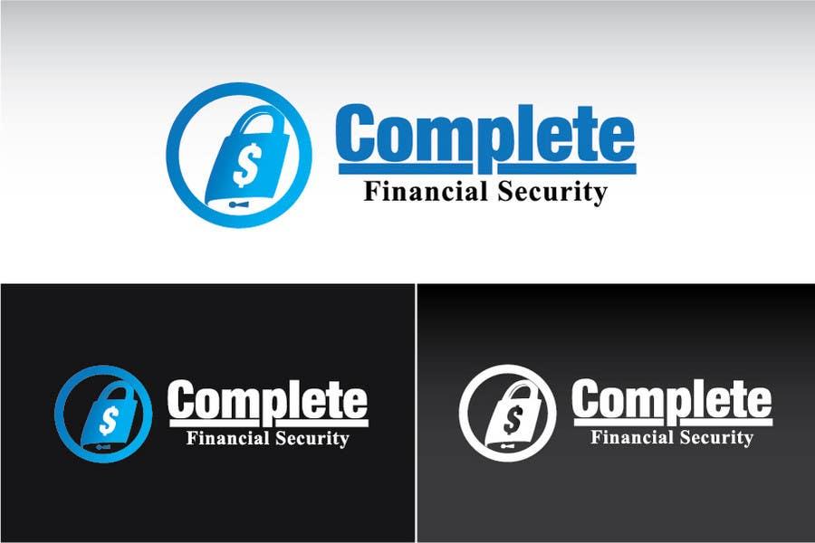 Kilpailutyö #386 kilpailussa Logo Design for Complete Financial Security