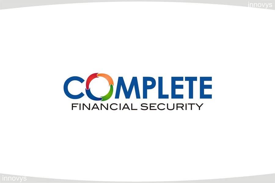 Kilpailutyö #538 kilpailussa Logo Design for Complete Financial Security