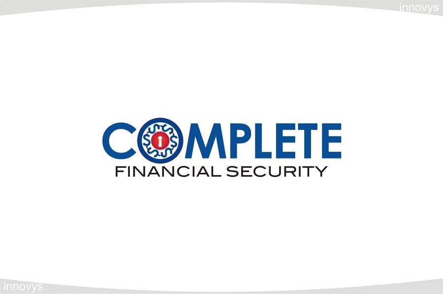 Kilpailutyö #544 kilpailussa Logo Design for Complete Financial Security