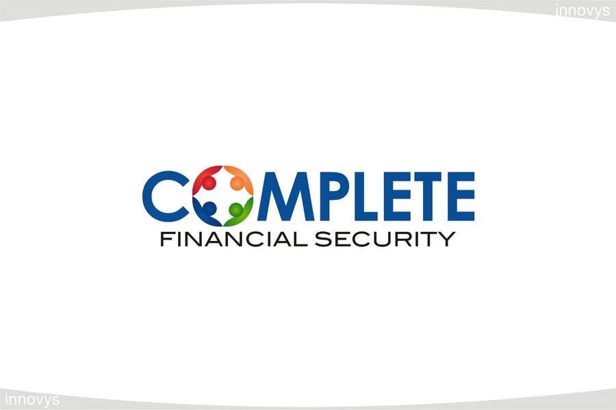 Kilpailutyö #550 kilpailussa Logo Design for Complete Financial Security