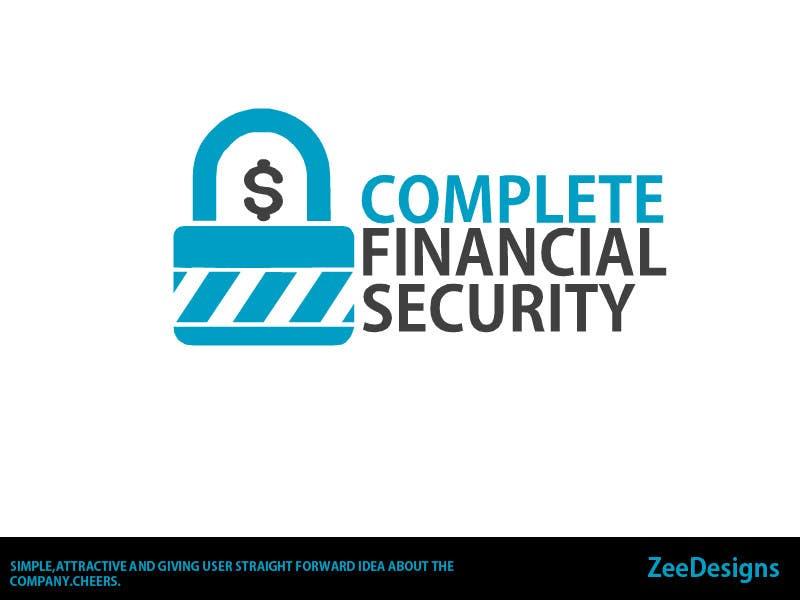 Kilpailutyö #472 kilpailussa Logo Design for Complete Financial Security