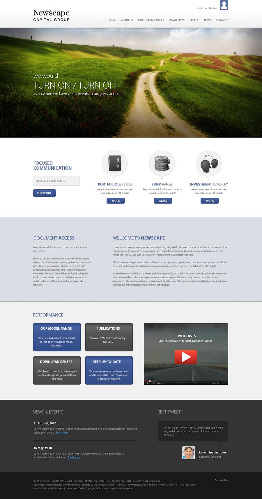 #37 for Design a Microsite by zumanur