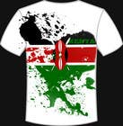Contest Entry #19 for t-shirt design based on the theme of Kenyan flag