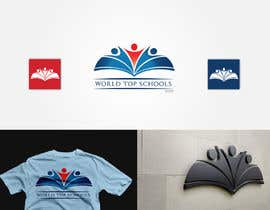 #46 for Design a Logo for World Top Schools by johanmak