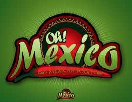 nº 97 pour Mexican Restaurant Logo par rogeliobello