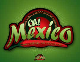 #97 untuk Mexican Restaurant Logo oleh rogeliobello