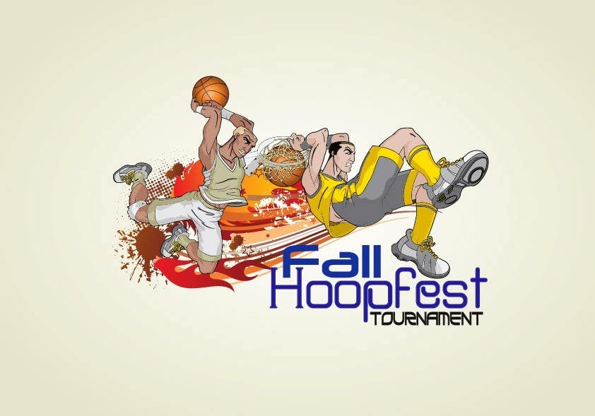 Penyertaan Peraduan #29 untuk Design a Logo for Youth Basketball Tournament