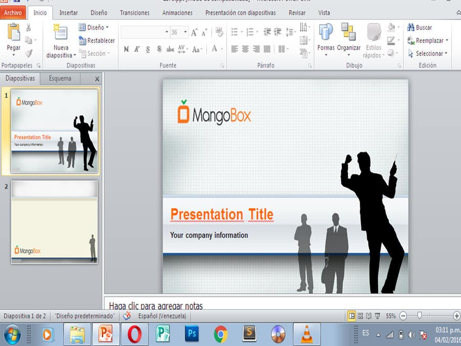 Entry 13 By Stcserviciosdiaz For Create A Powerpoint Template