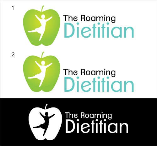Contest Entry #                                        183                                      for                                         Logo Design for A consulting and private practice business called 'The Roaming Dietitian'