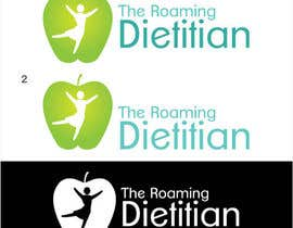 #184 pentru Logo Design for A consulting and private practice business called 'The Roaming Dietitian' de către raffyph1