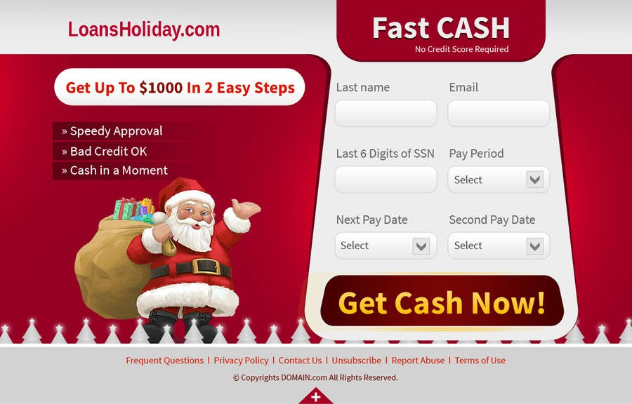 #22 for Design Landing Page #1 Shopping Product In 2013 Shopping Season In USA... Can you design better than Santa Claus? by tania06