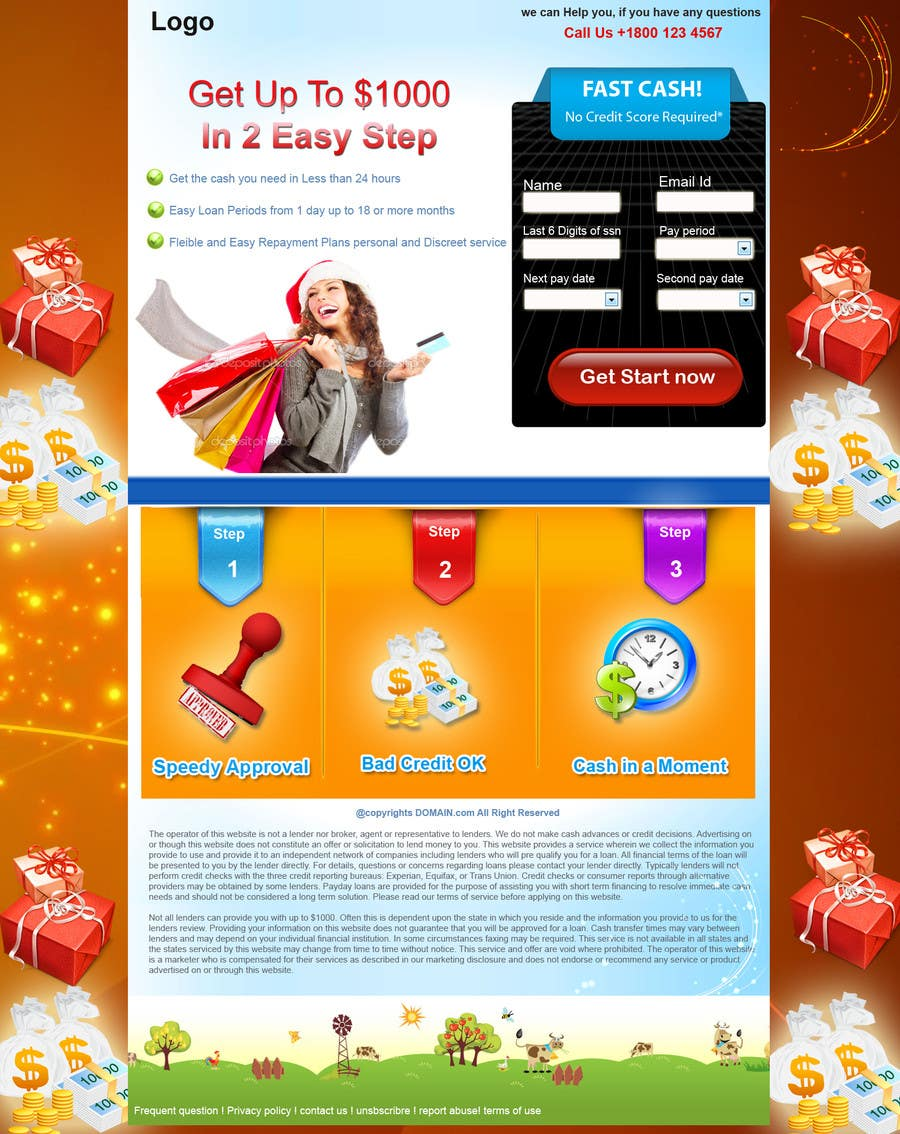#21 for Design Landing Page #1 Shopping Product In 2013 Shopping Season In USA... Can you design better than Santa Claus? by ambalaonline1