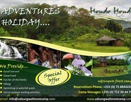 #27 untuk Design a Advertisment for Udzungwa Forest Tented Camp oleh ezesol