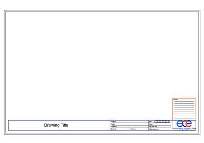 how to use title blocks on autocad