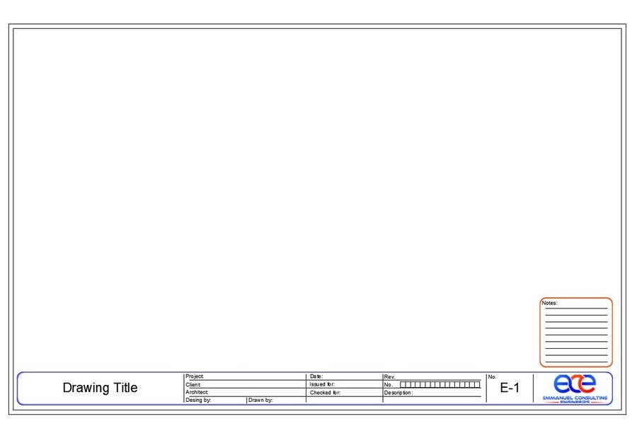 how to create a title block template in autocad
