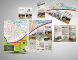 nº 18 pour Create city-map brochure design for hotel customer service + branding par mamem