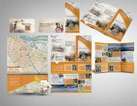 nº 33 pour Create city-map brochure design for hotel customer service + branding par mamem
