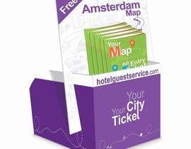 ProliSoft tarafından Create city-map brochure design for hotel customer service + branding için no 24