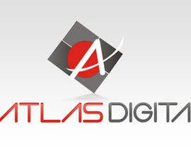 nº 38 pour Improve a logo for Atlas digital par MagicalDesigner
