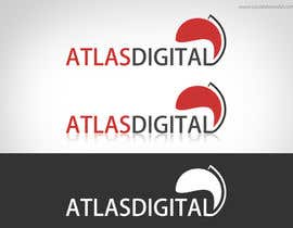 nº 6 pour Improve a logo for Atlas digital par visualbliss