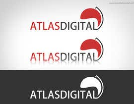 nº 7 pour Improve a logo for Atlas digital par visualbliss
